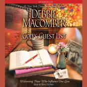 Gods Guest List: Welcoming Those Who Influence Our Lives Audiobook, by Debbie Macomber