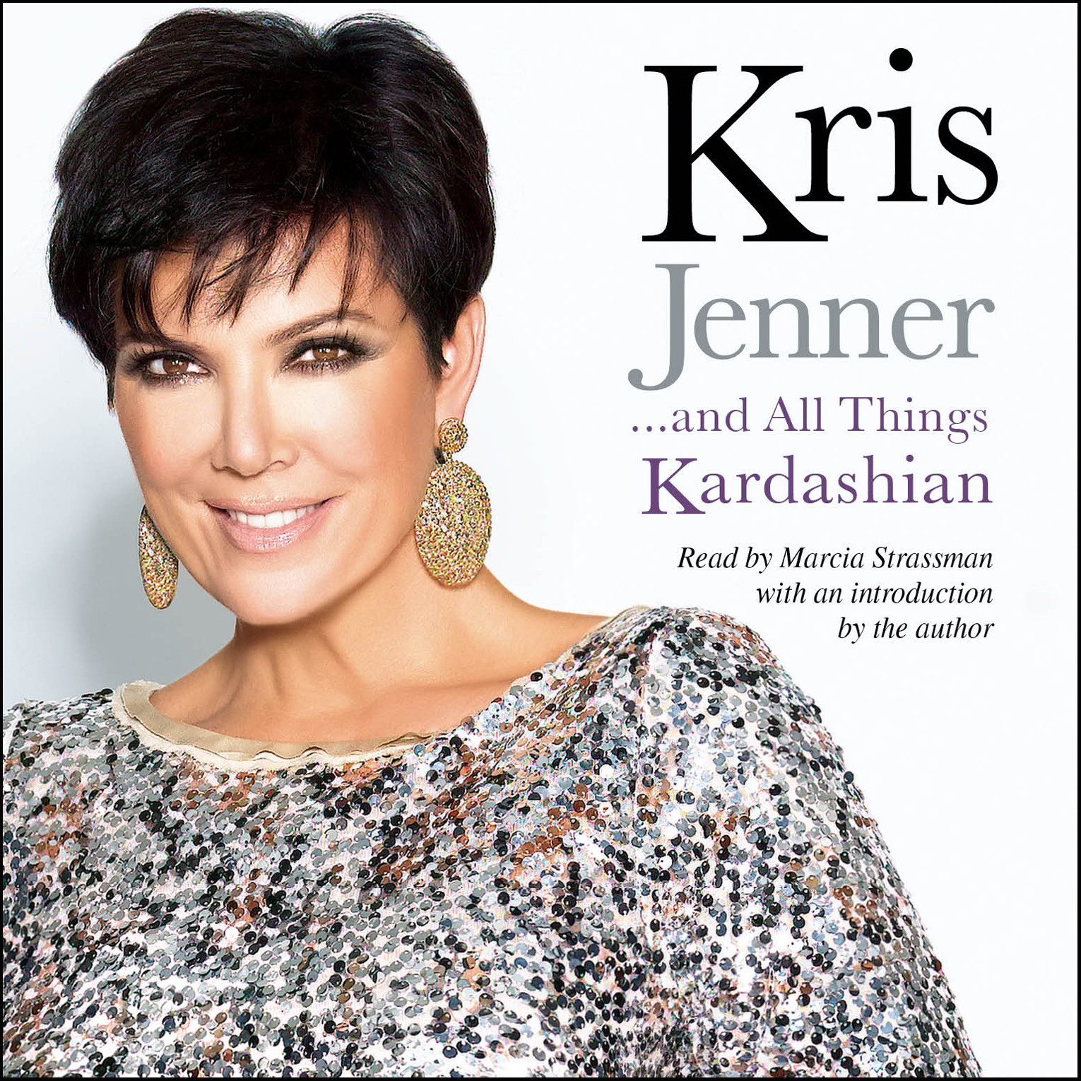 Printable Kris Jenner … And All Things Kardashian Audiobook Cover Art