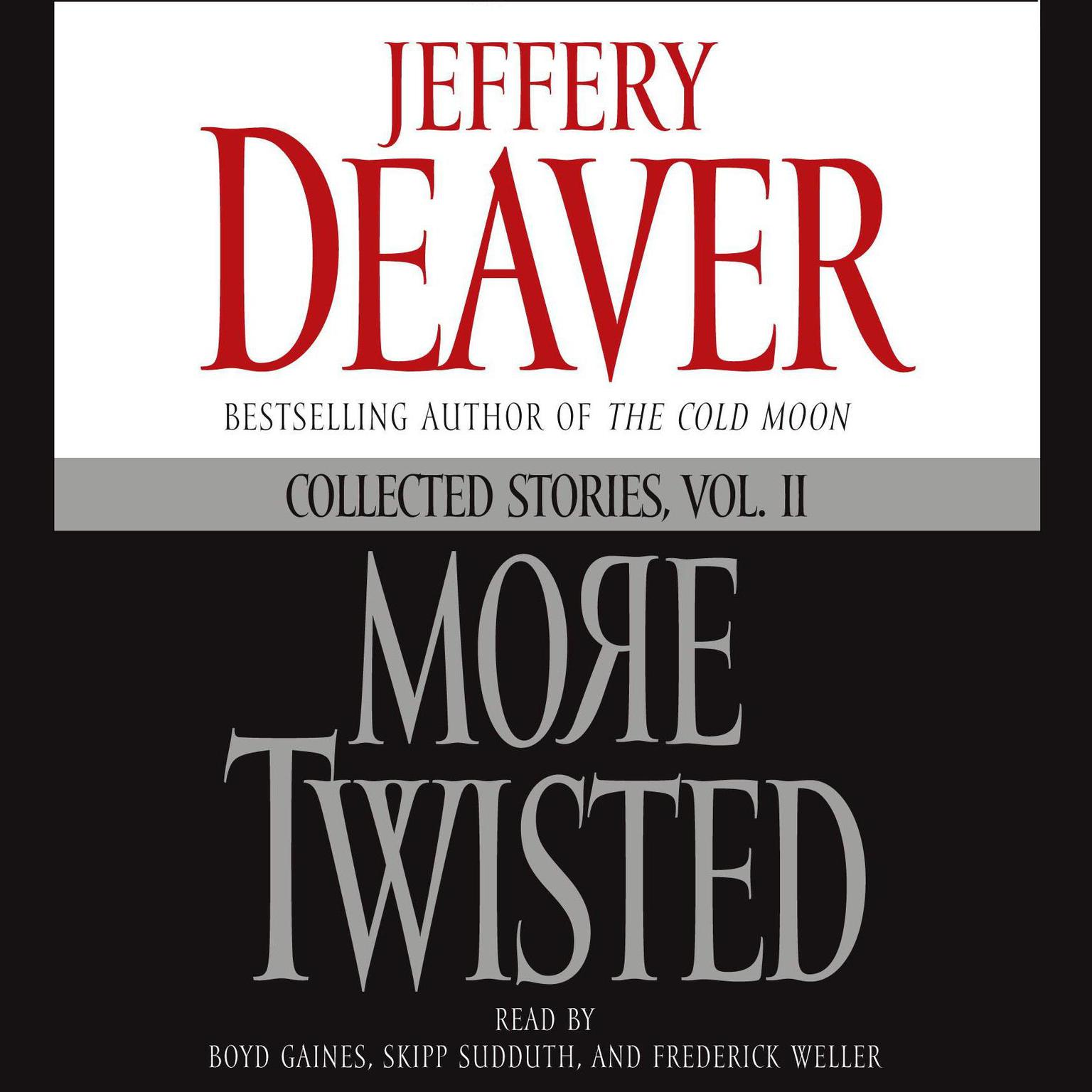 Printable More Twisted: Collected Stories, Vol. II Audiobook Cover Art