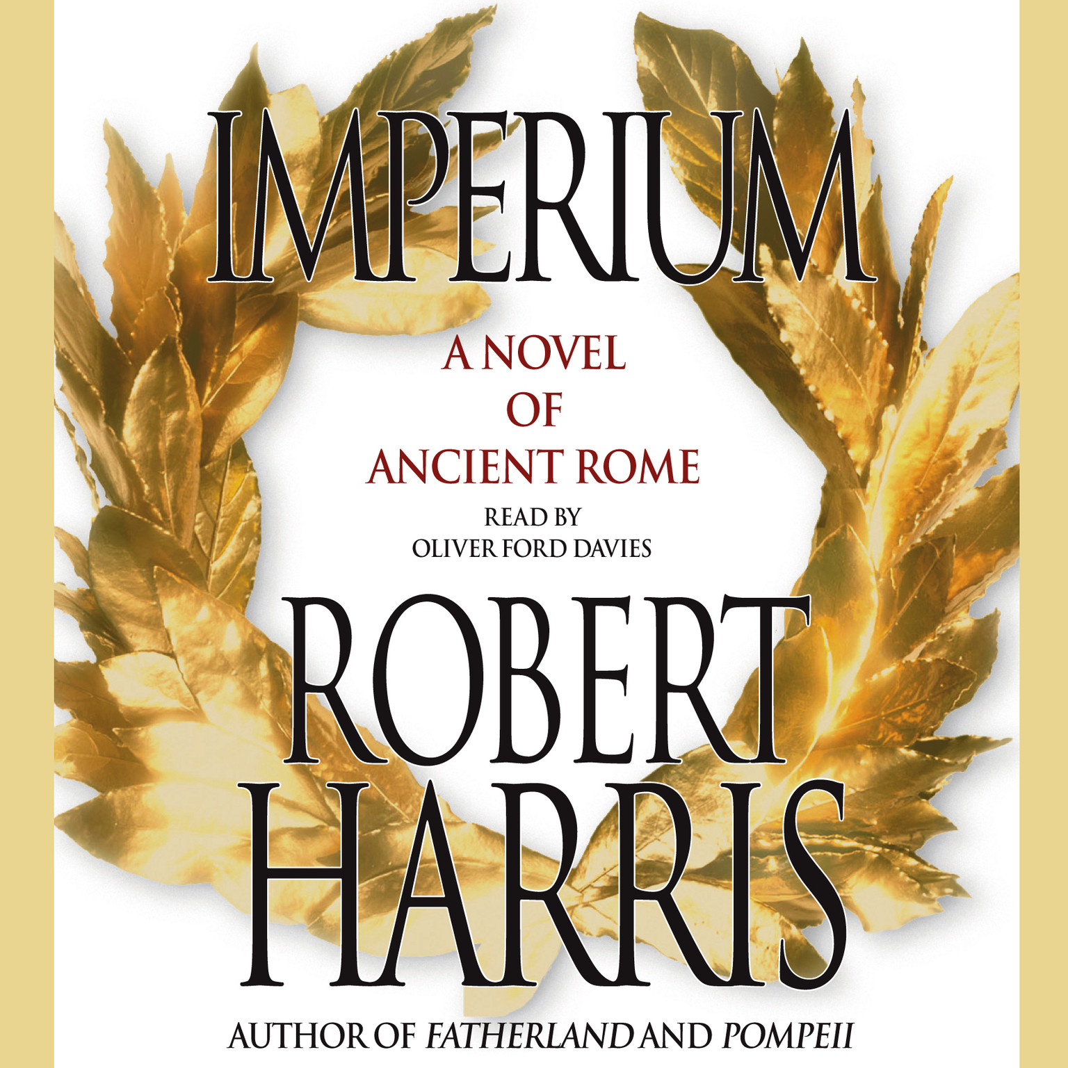 Printable Imperium: A Novel of Ancient Rome Audiobook Cover Art