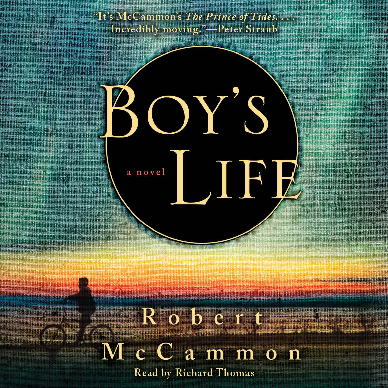 Printable Boy's Life Audiobook Cover Art
