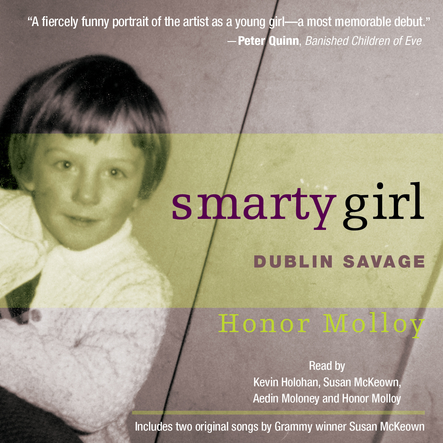 Printable Smarty Girl: Dublin Savage Audiobook Cover Art