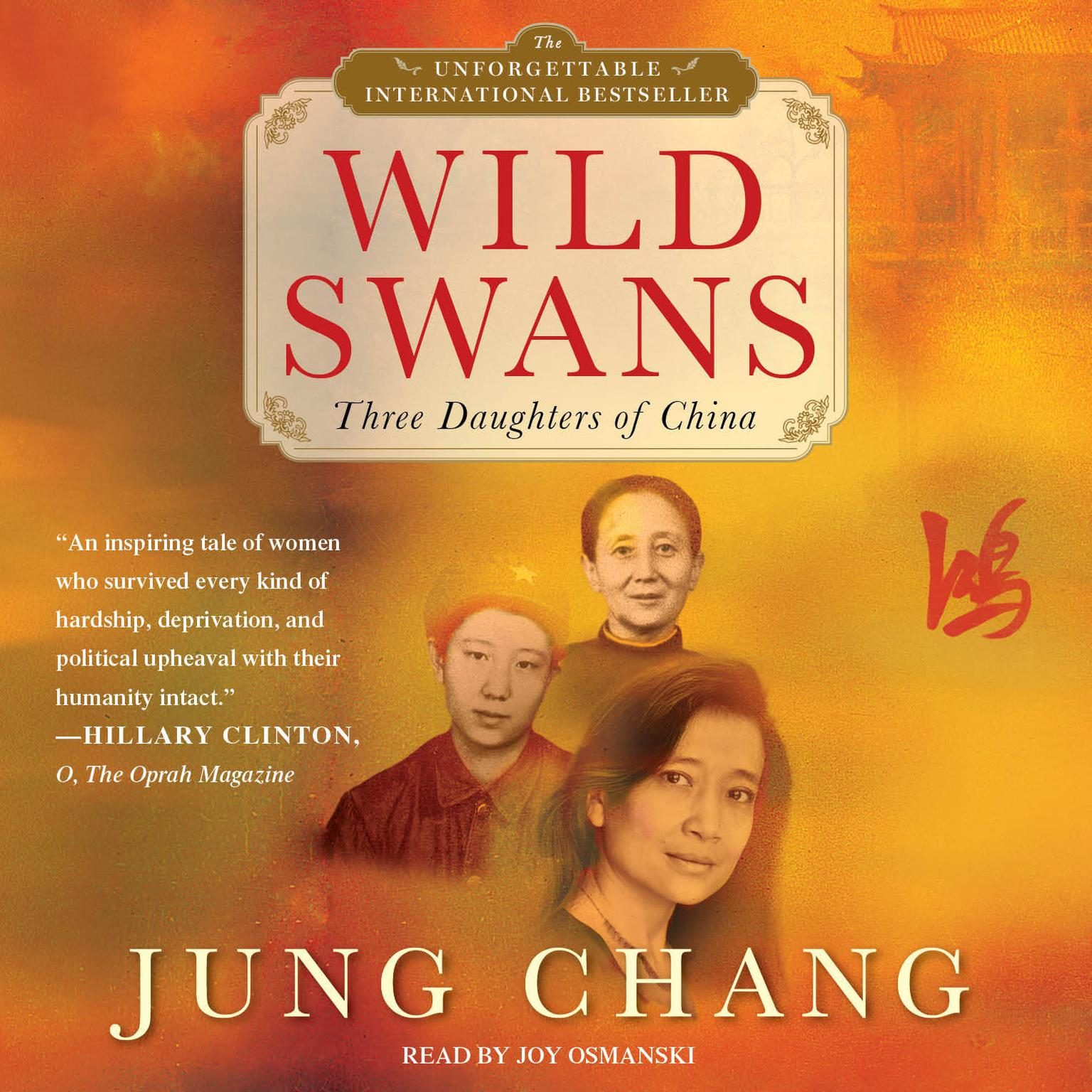 Printable Wild Swans: Three Daughters of China Audiobook Cover Art