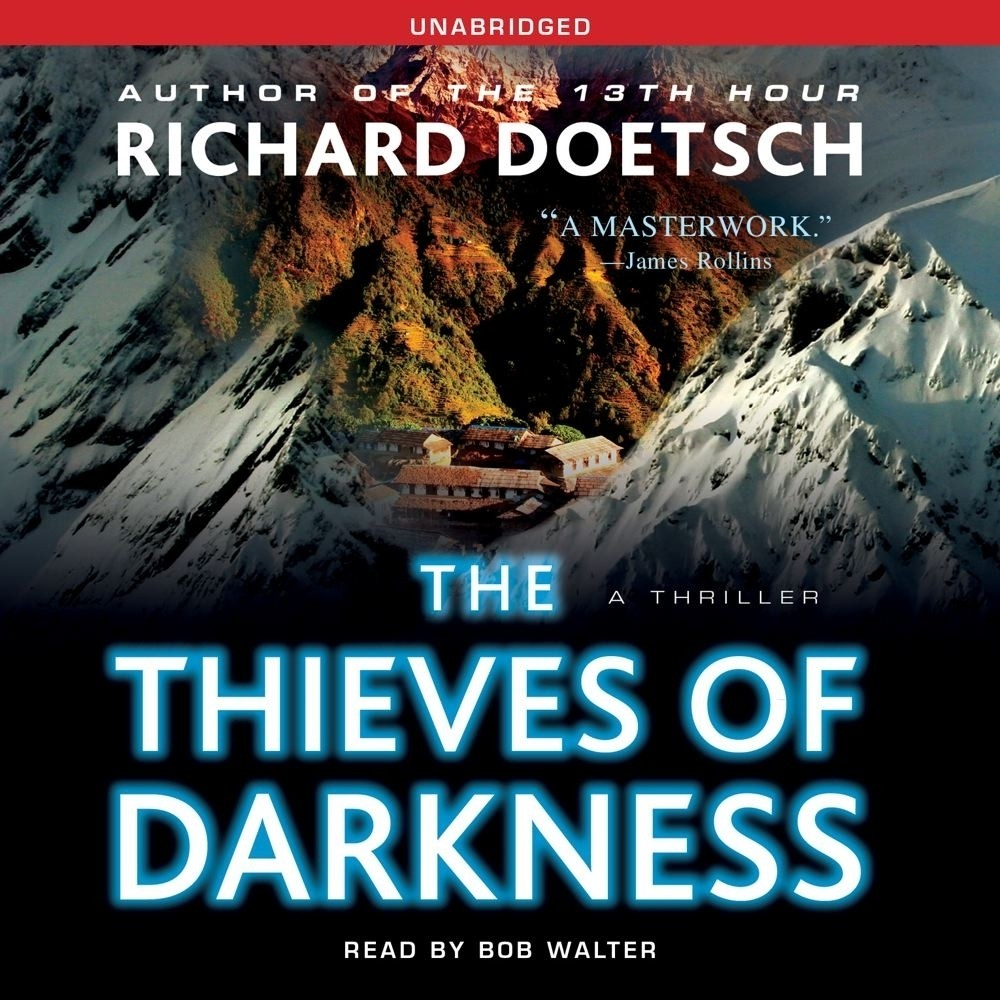 Printable The Thieves of Darkness: A Thriller Audiobook Cover Art
