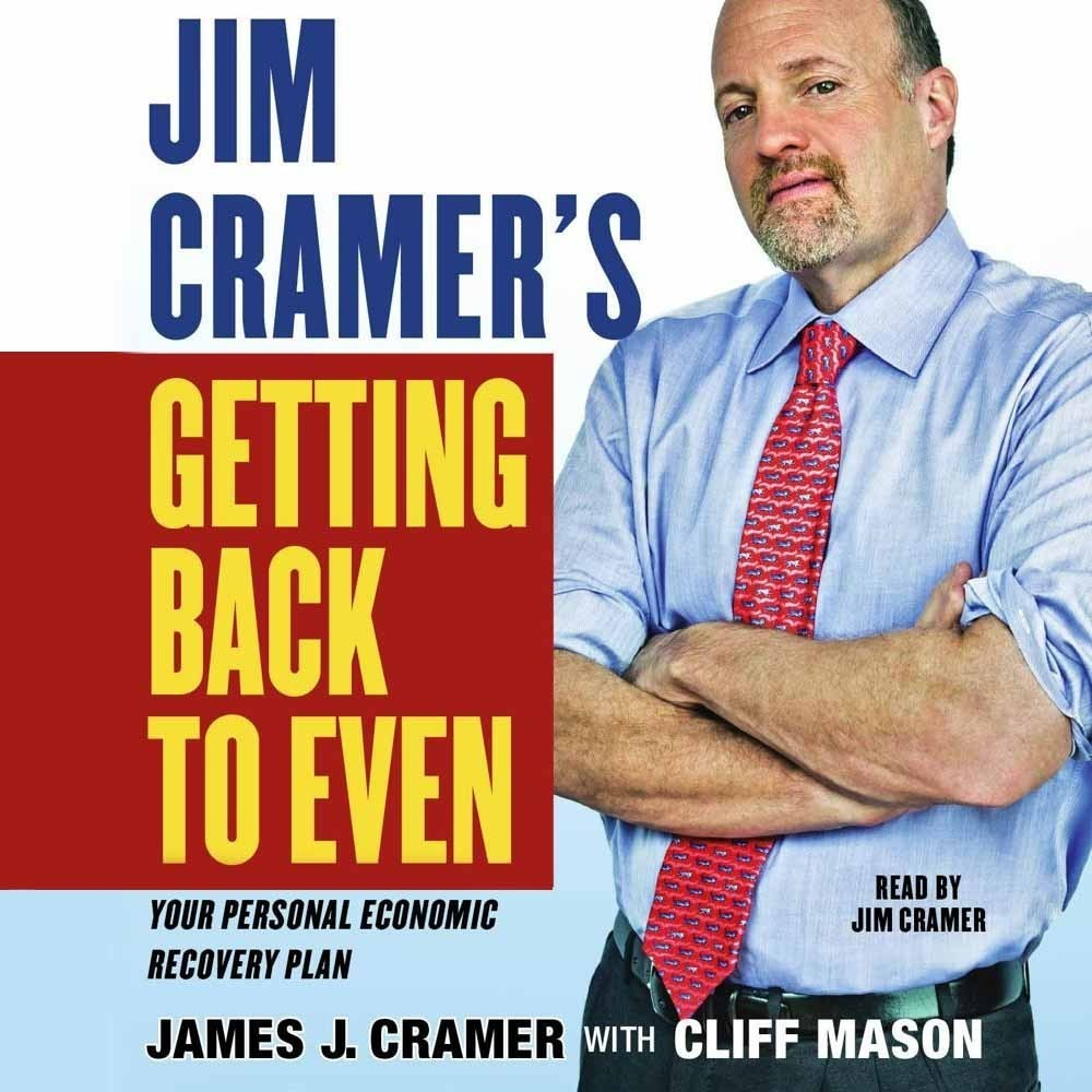Printable Jim Cramer's Getting Back to Even Audiobook Cover Art