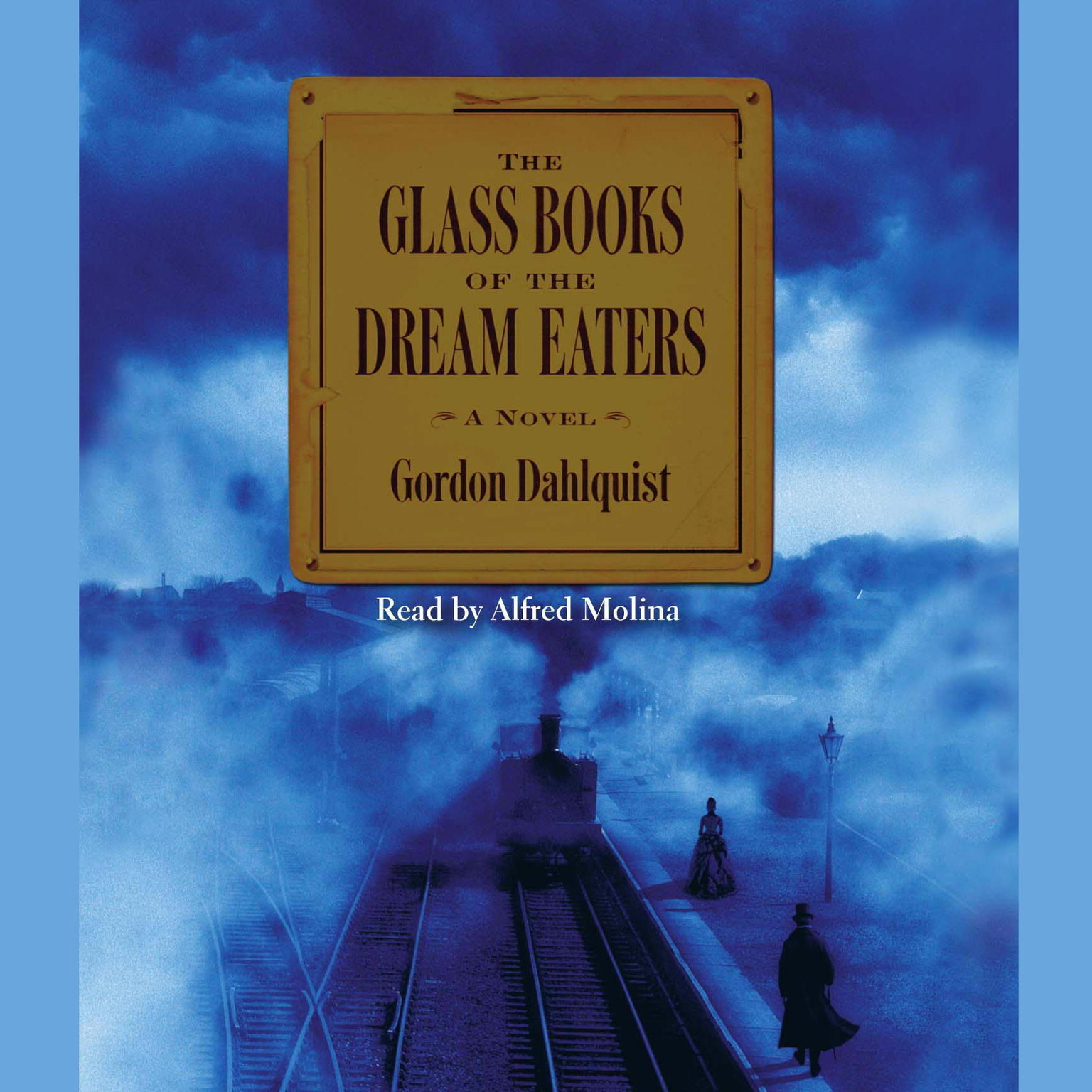 Printable The Glass Books of The Dream Eaters Audiobook Cover Art
