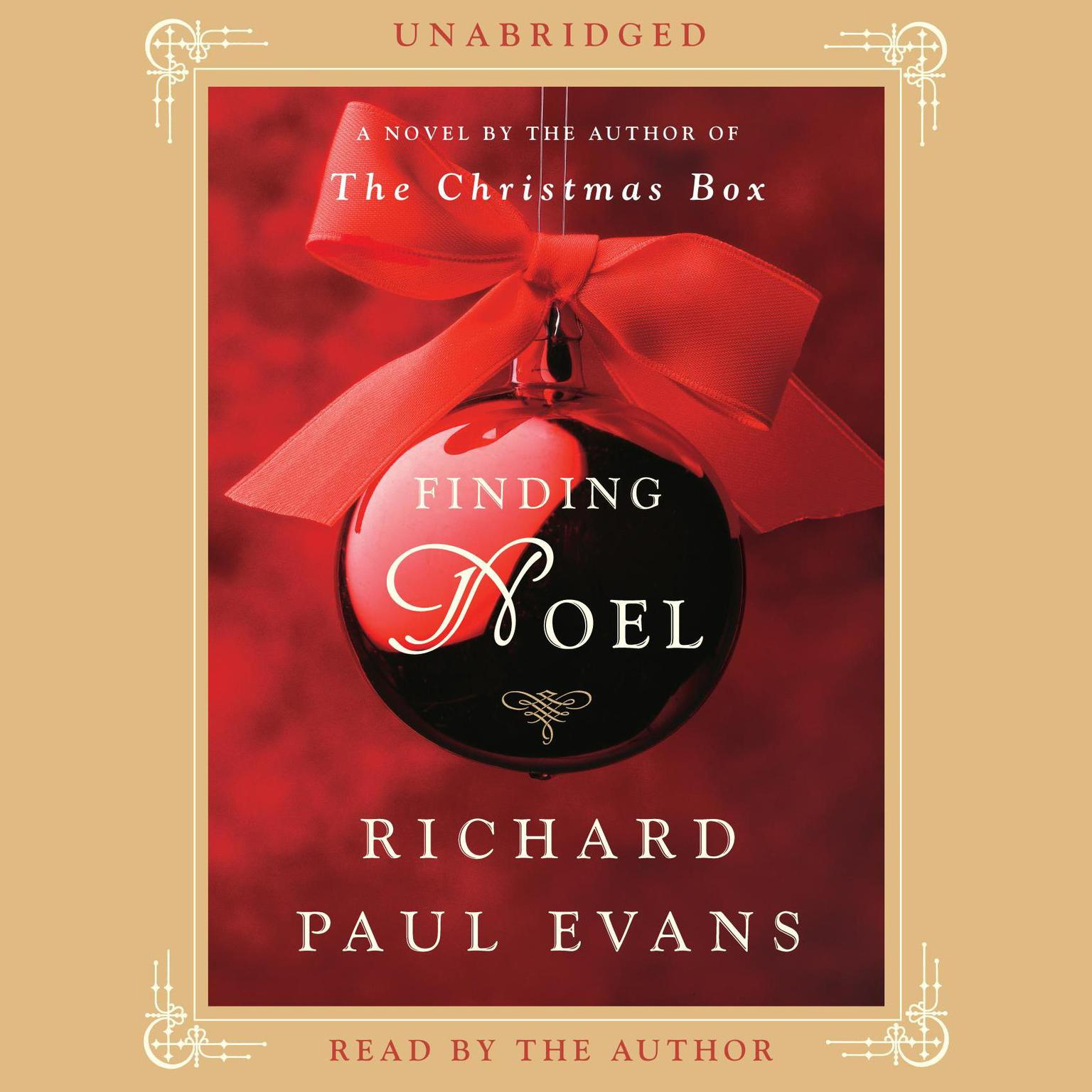 Printable Finding Noel: A Novel Audiobook Cover Art