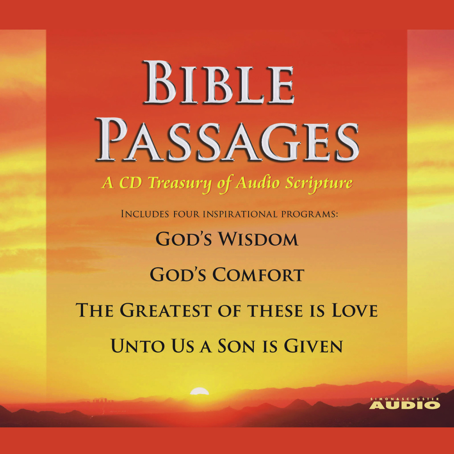 Printable Bible Passages: A CD Treasury of Audio Scripture Audiobook Cover Art