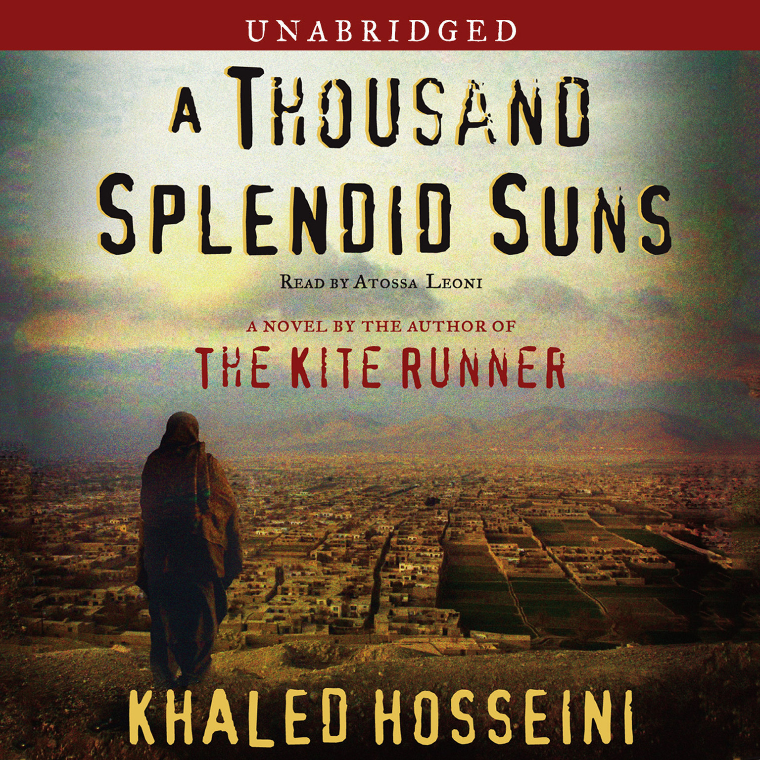 Printable A Thousand Splendid Suns: A Novel Audiobook Cover Art