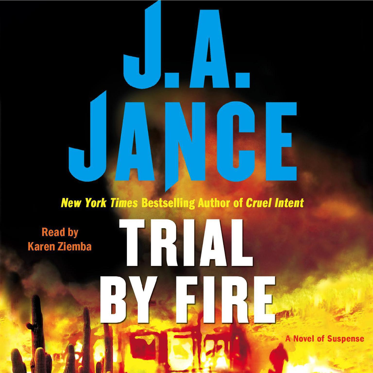 Printable Trial By Fire: A Novel of Suspense Audiobook Cover Art