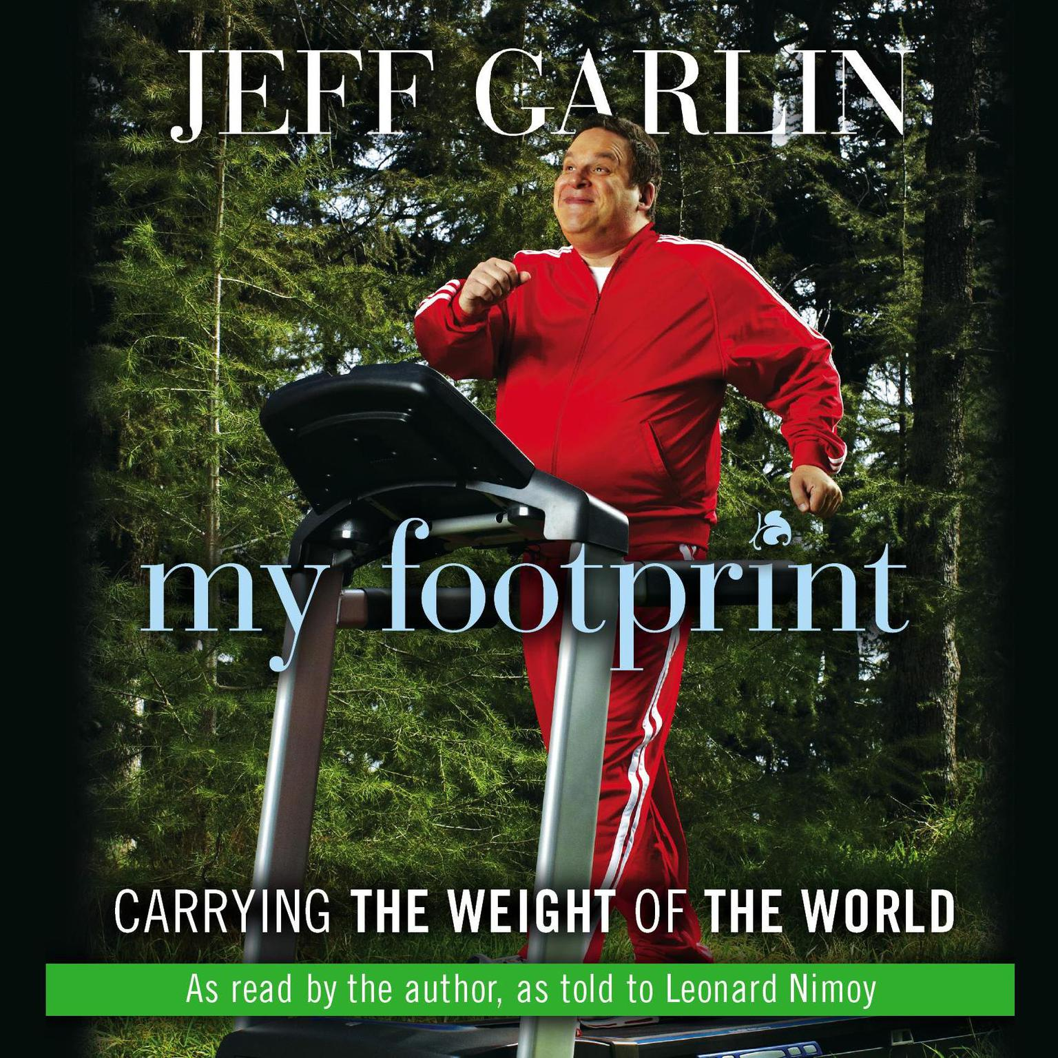 Printable My Footprint: Carrying the Weight of the World Audiobook Cover Art