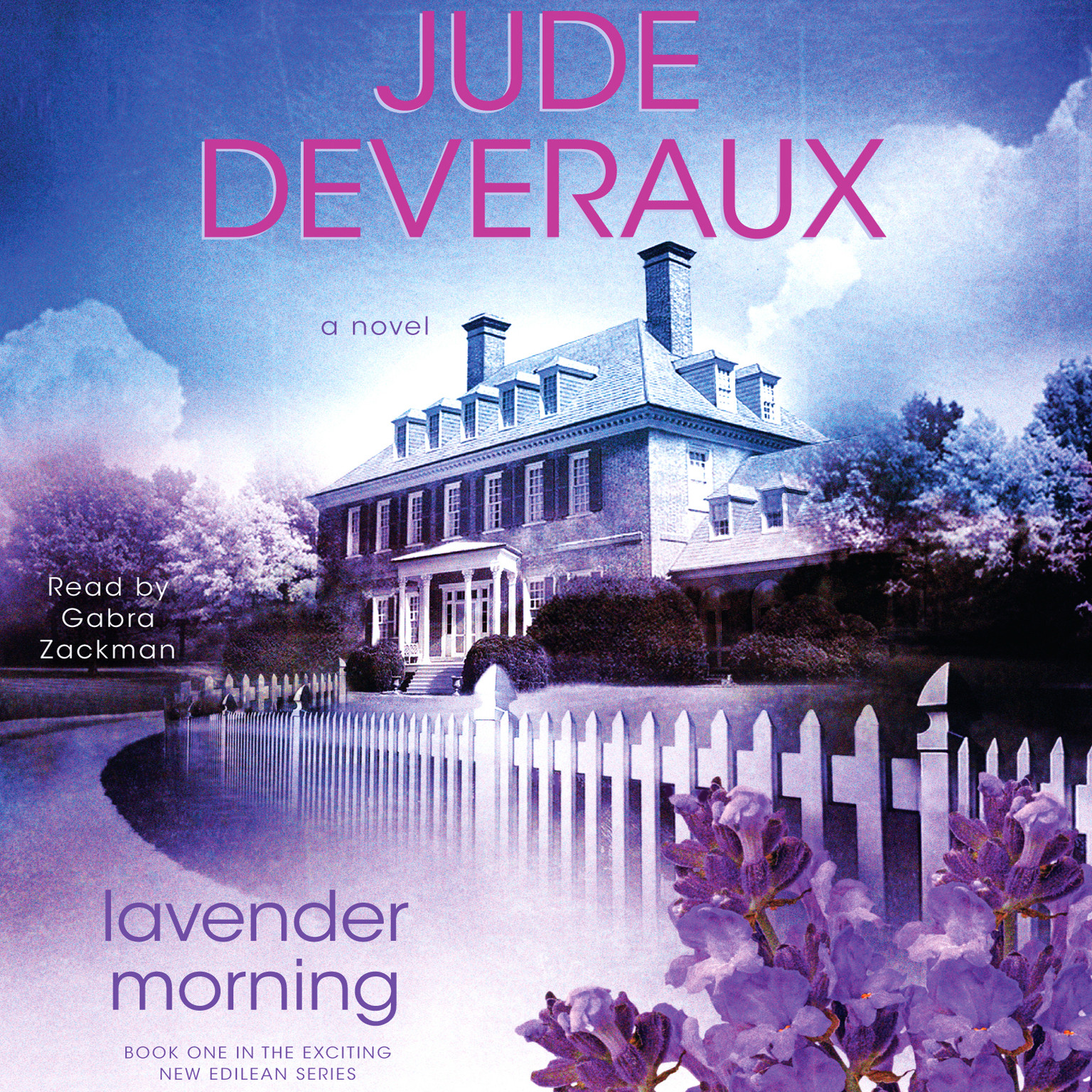 Printable Lavender Morning: A Novel Audiobook Cover Art