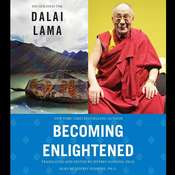 Becoming Enlightened Audiobook, by The Dalai Lama