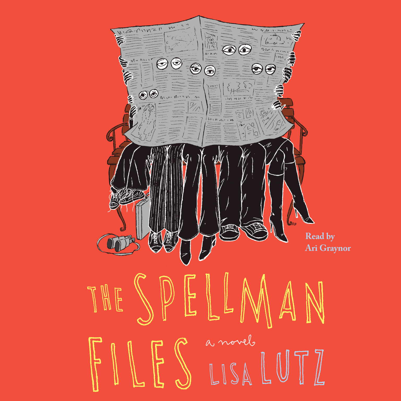 Printable The Spellman Files: A Novel Audiobook Cover Art