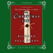 The Christmas List: A Novel Audiobook, by Richard Paul Evans
