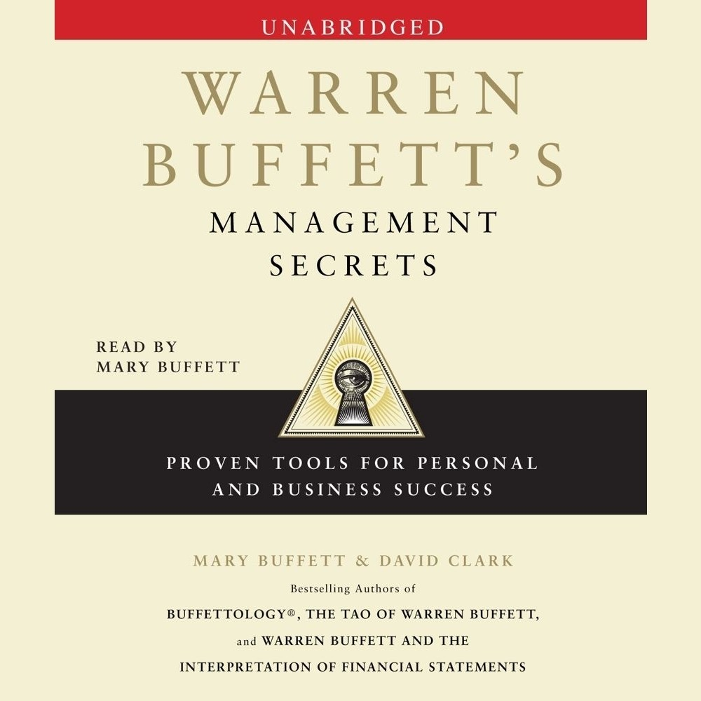 Printable Warren Buffett's Management Secrets: Proven Tools for Personal and Business Success Audiobook Cover Art