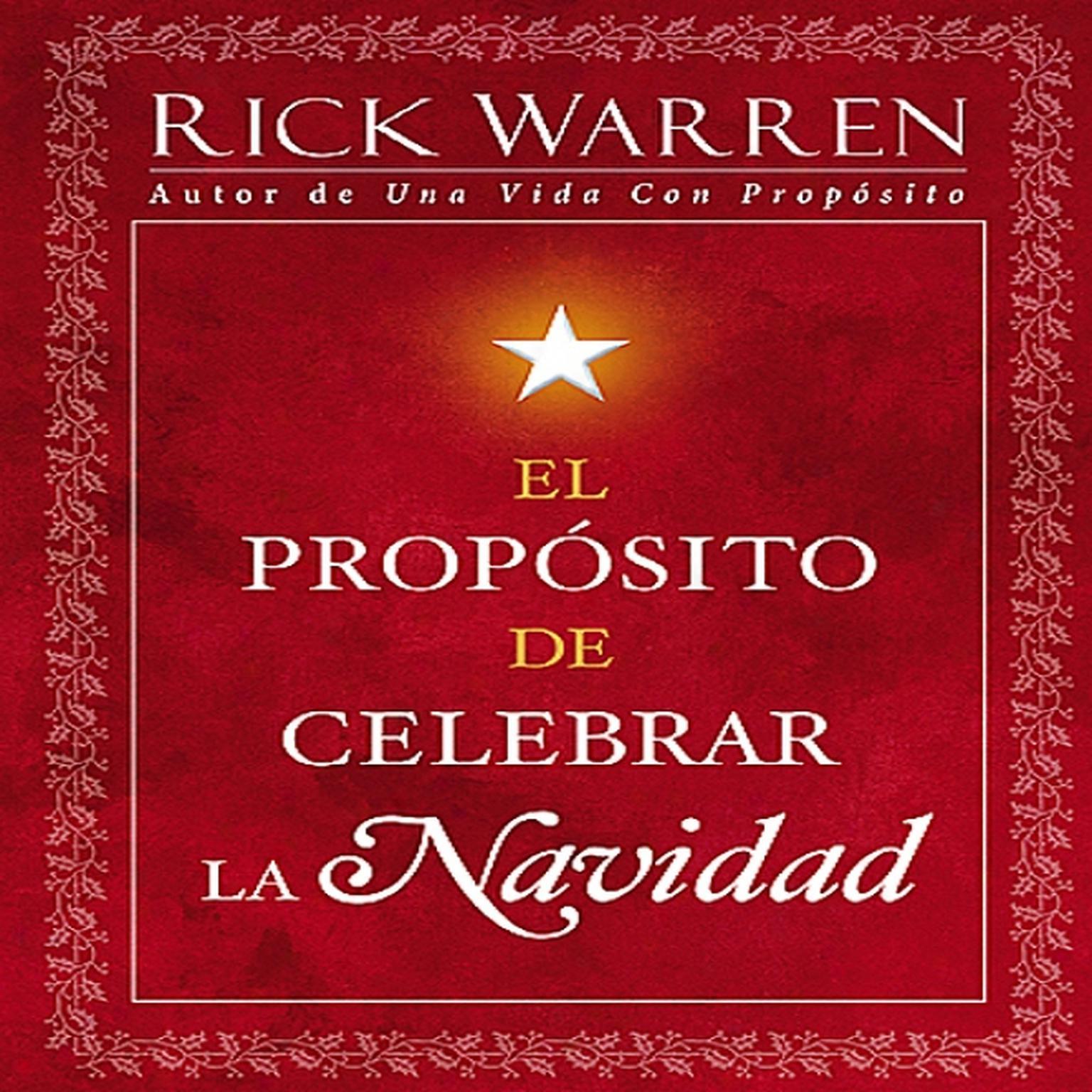 Printable El Propósito de Celebrar la Navidad Audiobook Cover Art
