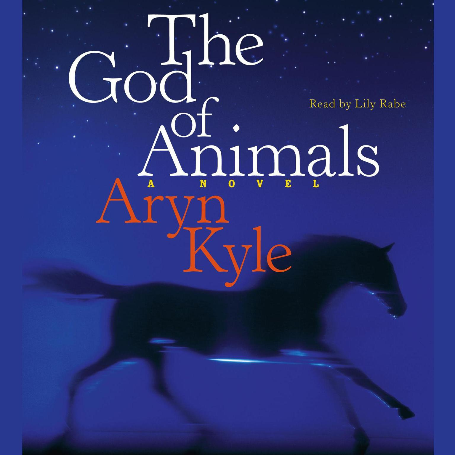 Printable The God of Animals: A Novel Audiobook Cover Art