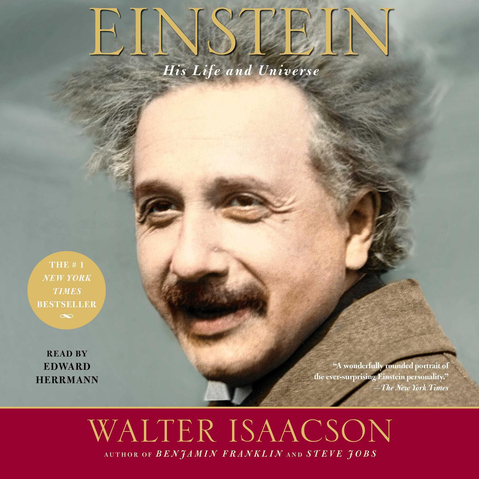 Printable Einstein: His Life and Universe Audiobook Cover Art