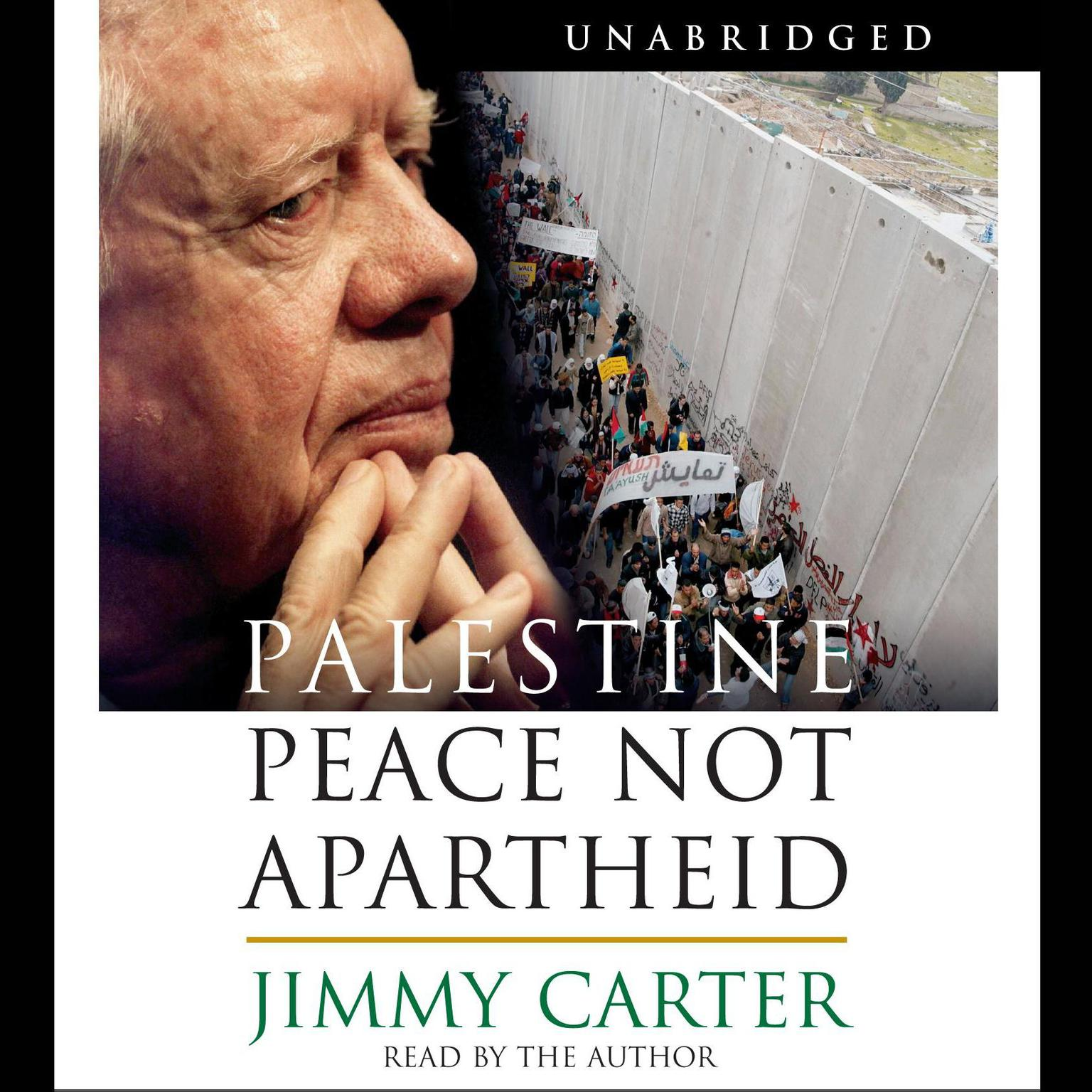 Printable Palestine: Peace Not Apartheid Audiobook Cover Art
