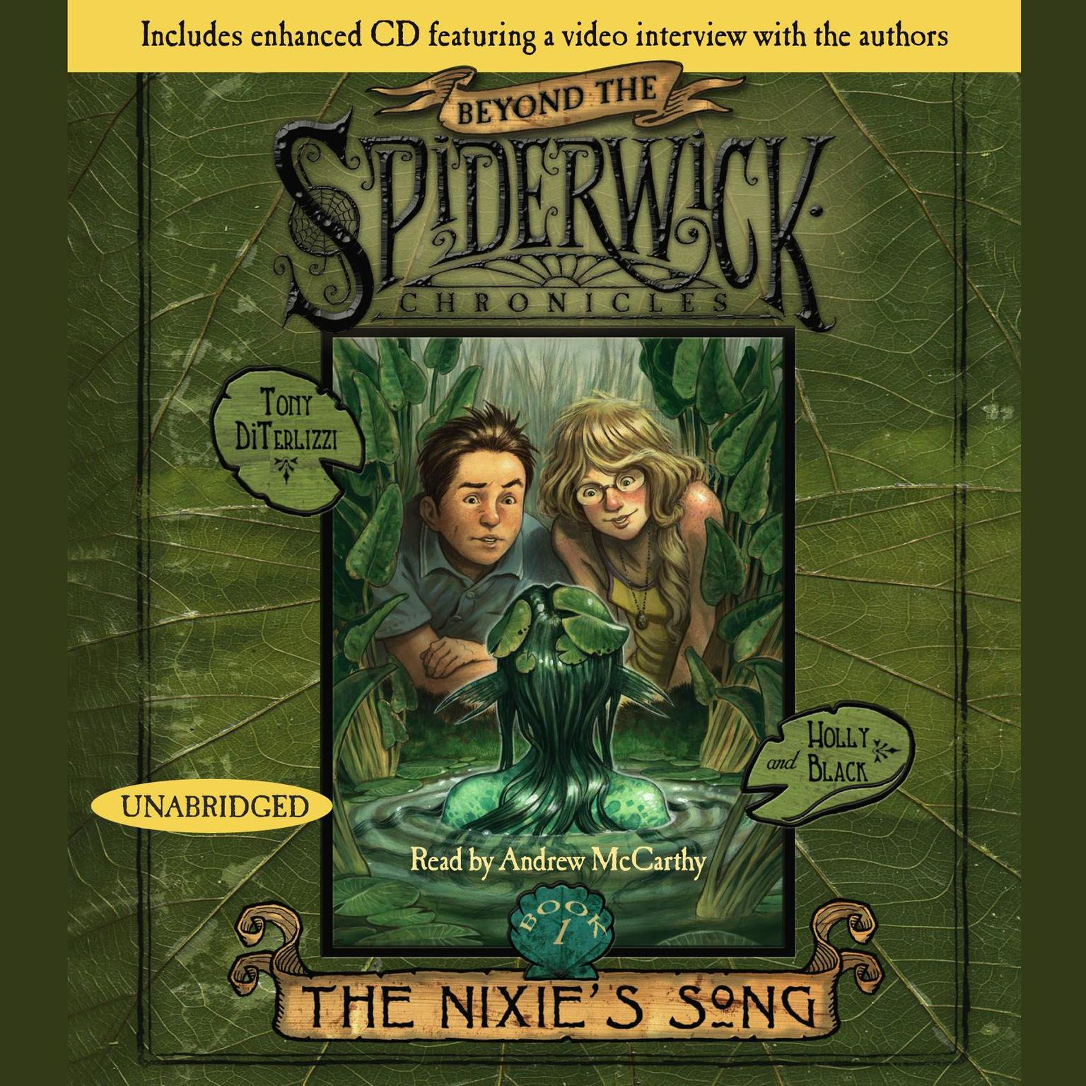 Printable The Nixie's Song: #1 Beyond Spiderwick Chronicles Series Audiobook Cover Art