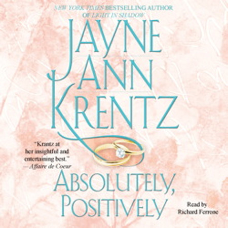 Printable Absolutely, Positively Audiobook Cover Art