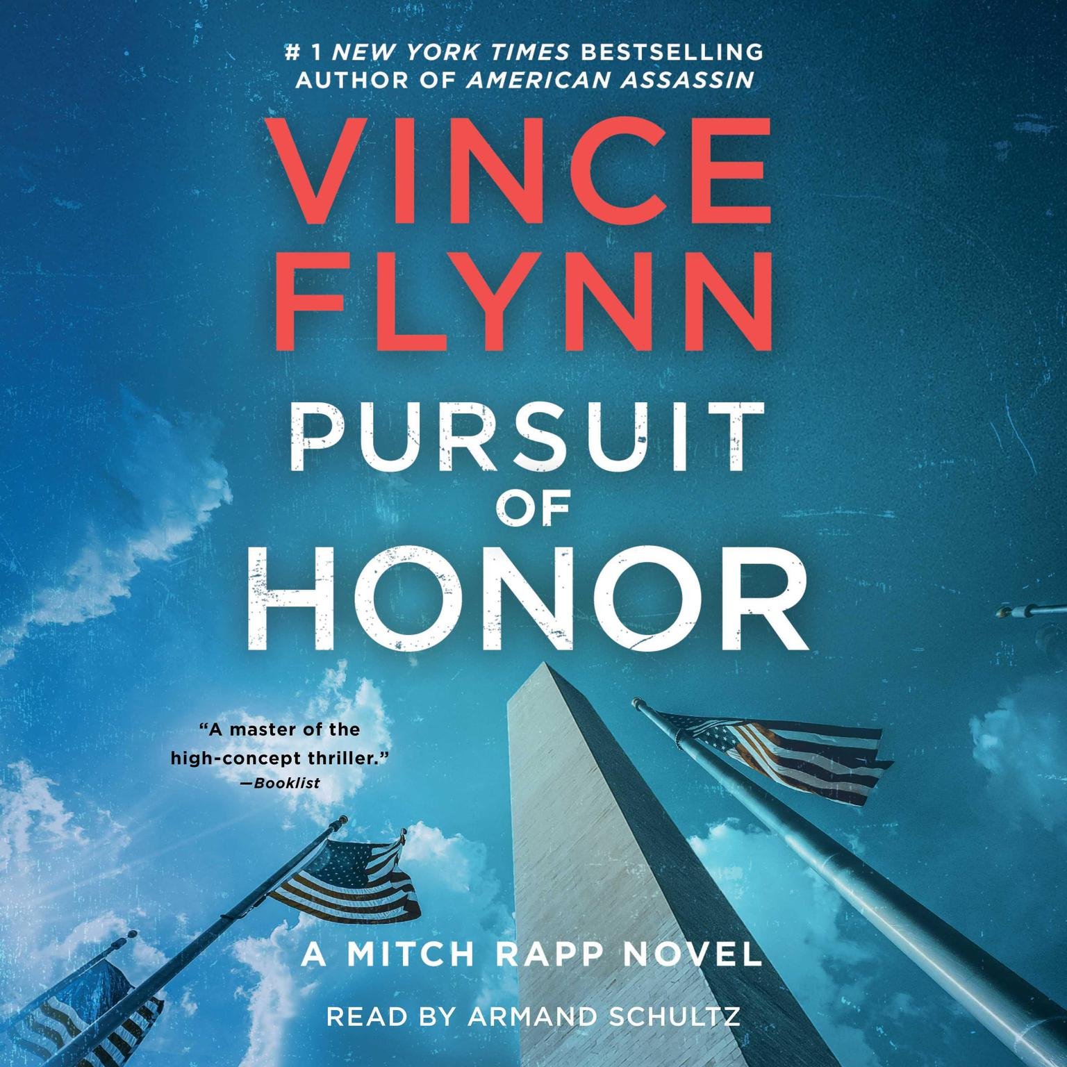 Printable Pursuit of Honor: A Thriller Audiobook Cover Art