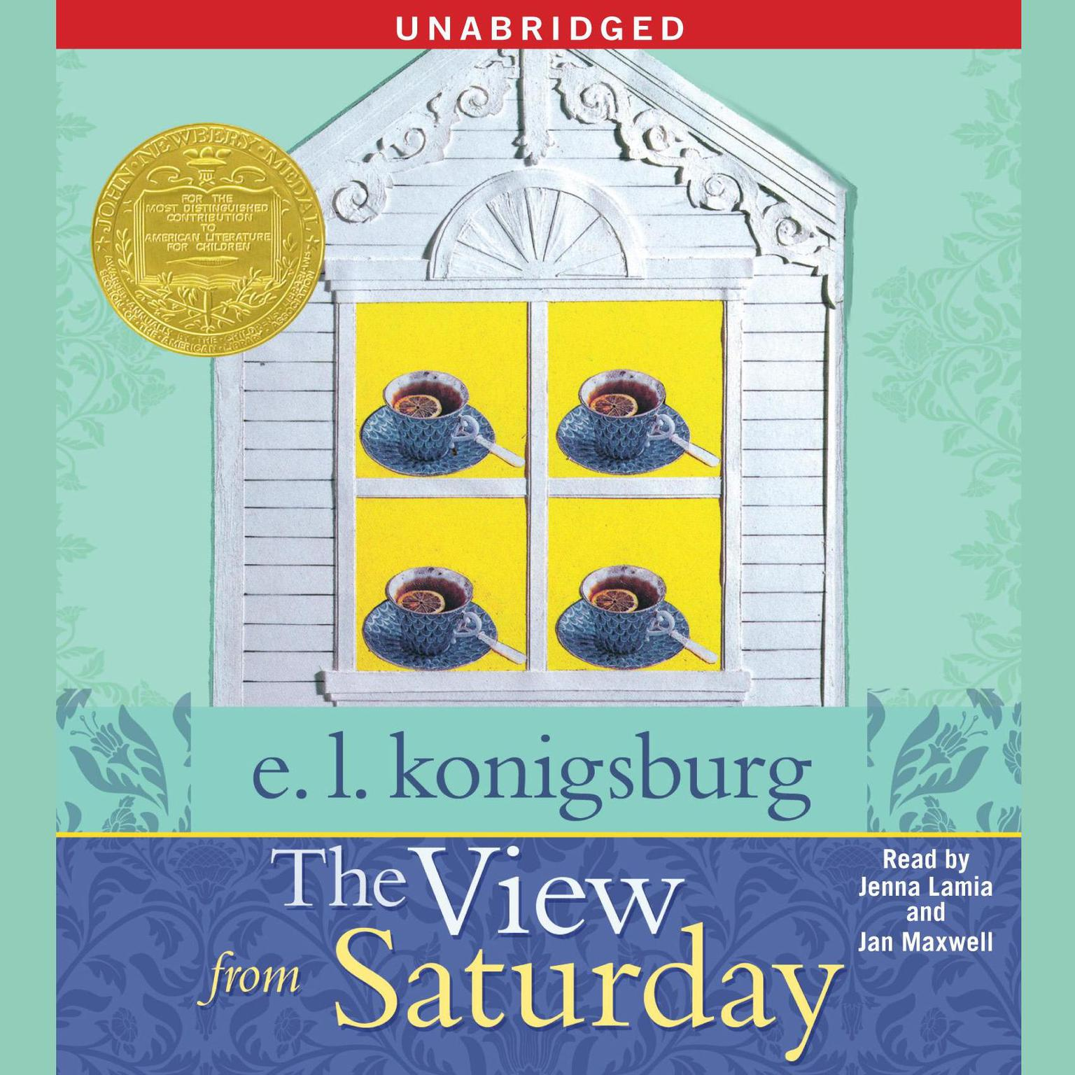 Printable The View From Saturday Audiobook Cover Art