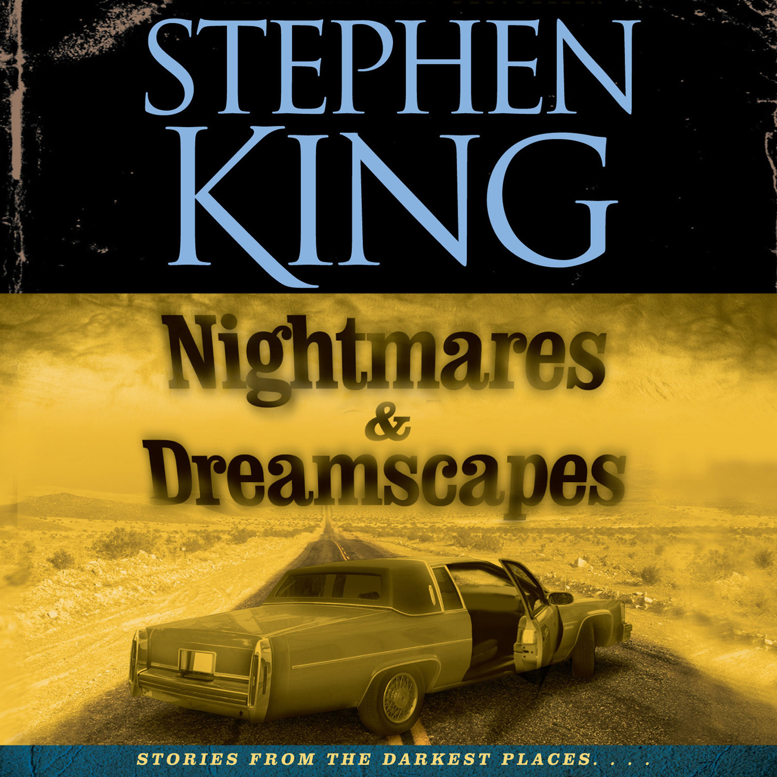 Printable Nightmares & Dreamscapes Audiobook Cover Art