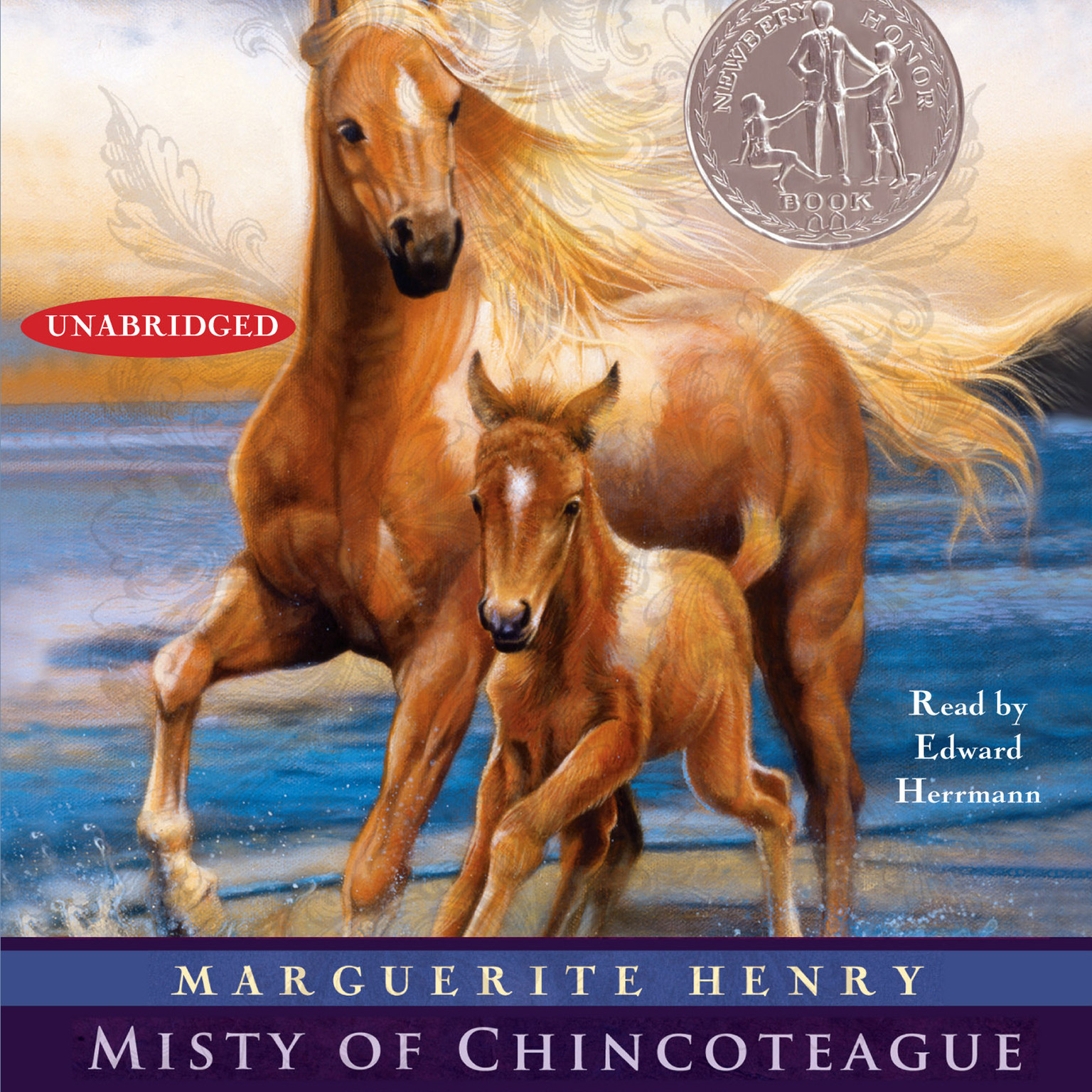 Printable Misty of Chincoteague Audiobook Cover Art