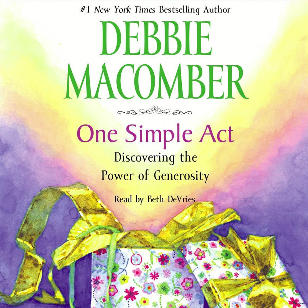 Printable One Simple Act: Discovering the Power of Generosity Audiobook Cover Art