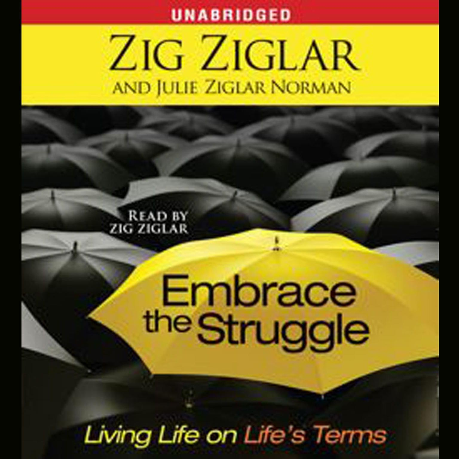 Printable Embrace the Struggle: Living Life on Life's Terms Audiobook Cover Art