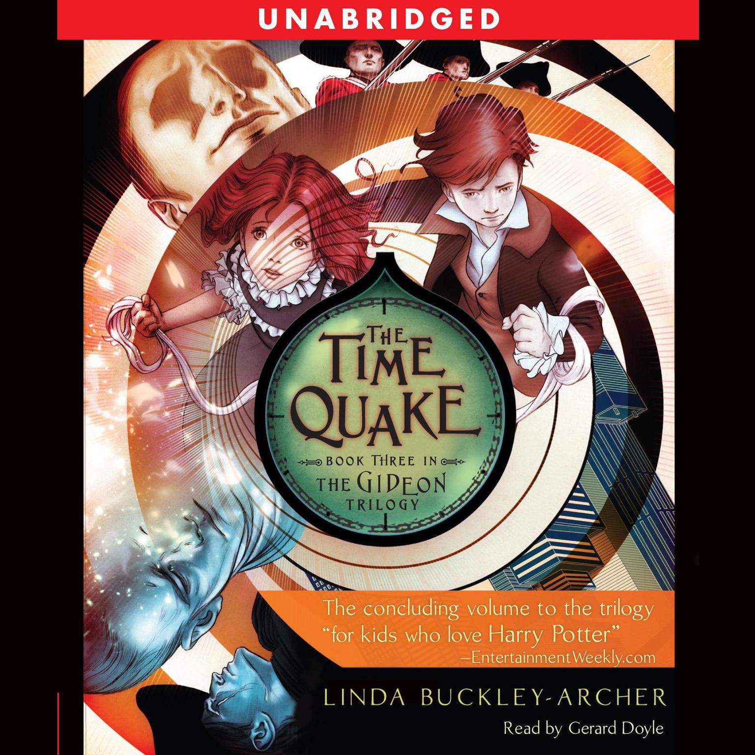 Printable The Time Quake: #3 in the Gideon Triliogy Audiobook Cover Art