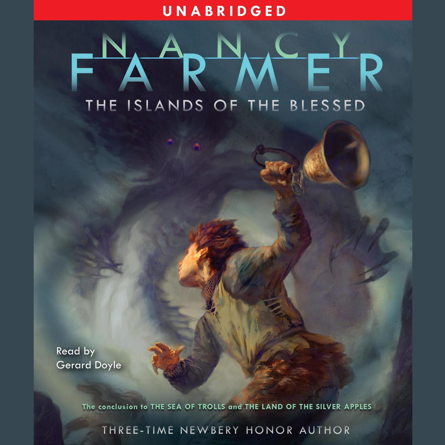 Printable The Islands of the Blessed Audiobook Cover Art