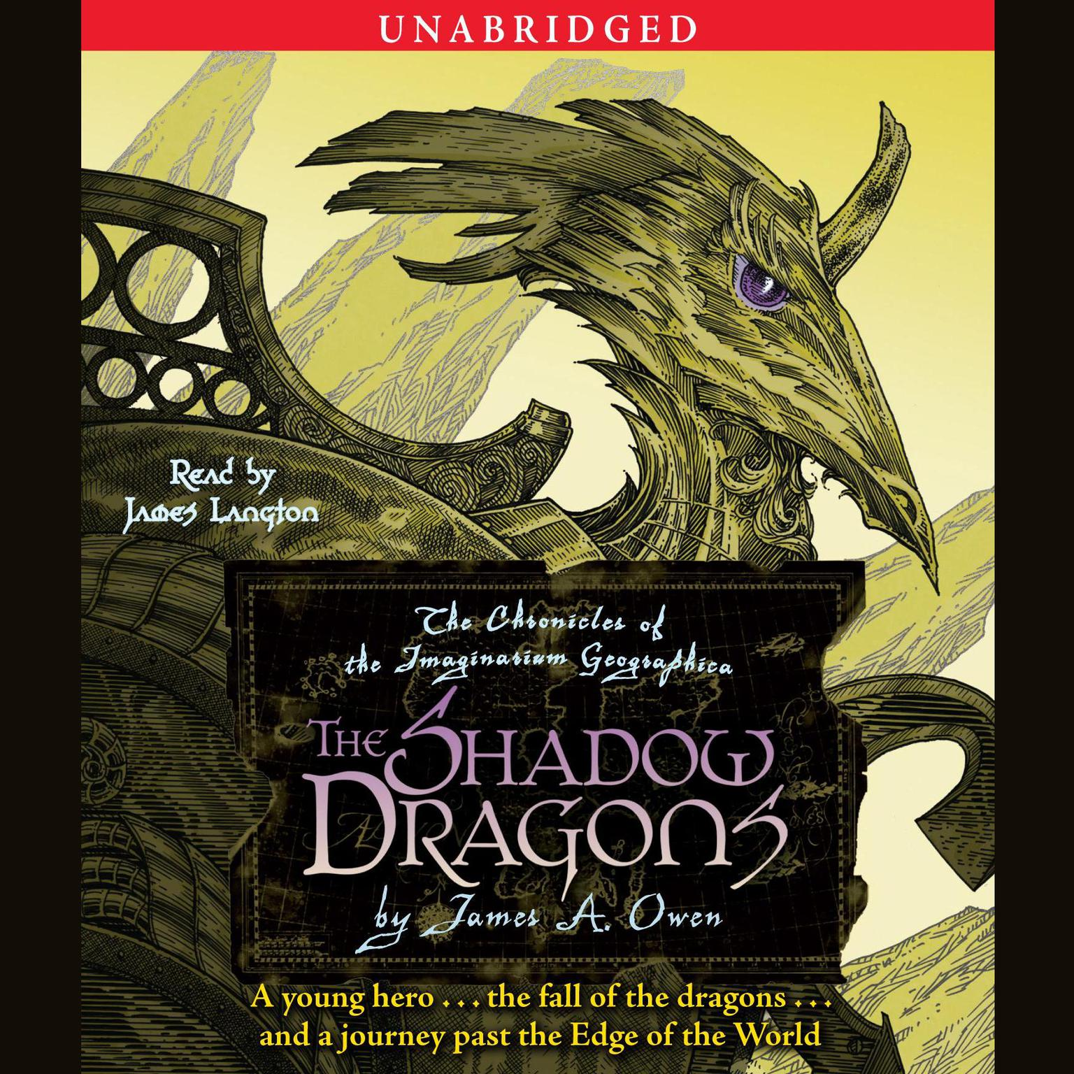 Printable The Shadow Dragons: The Chronicles of the Imaginarium Geographica, Book 4 Audiobook Cover Art