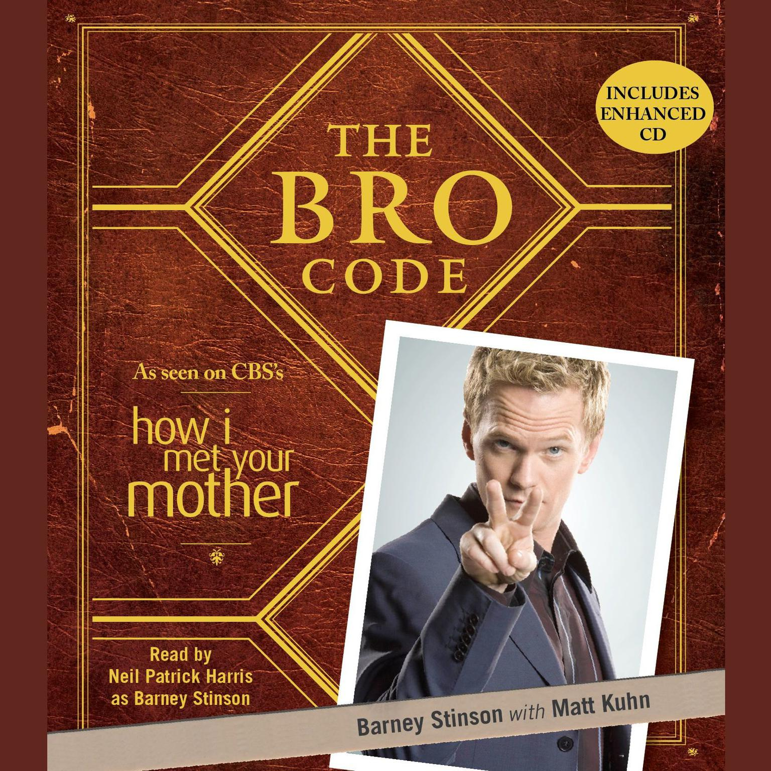 Printable The Bro Code Audiobook Cover Art
