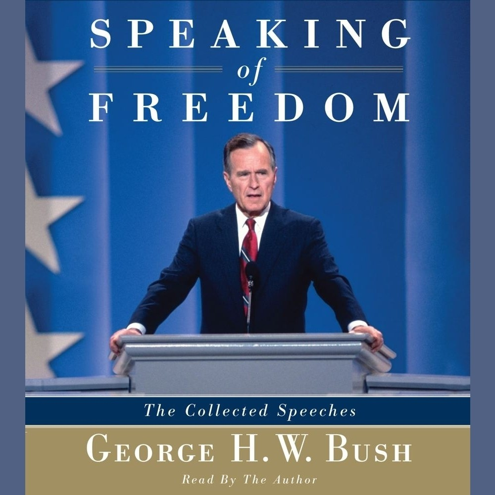 Printable Speaking of Freedom: The Collected Speeches Audiobook Cover Art