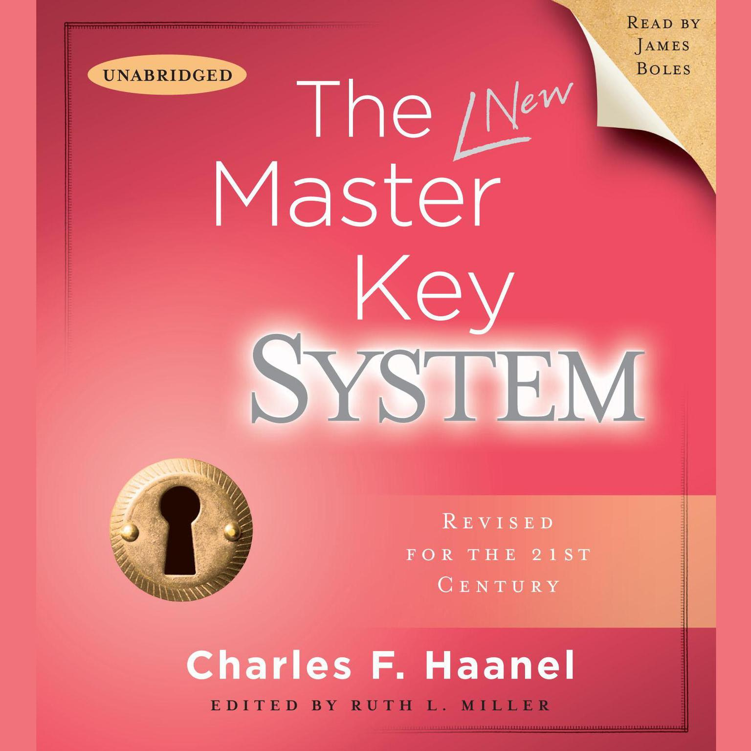 Printable The Master Key System Audiobook Cover Art