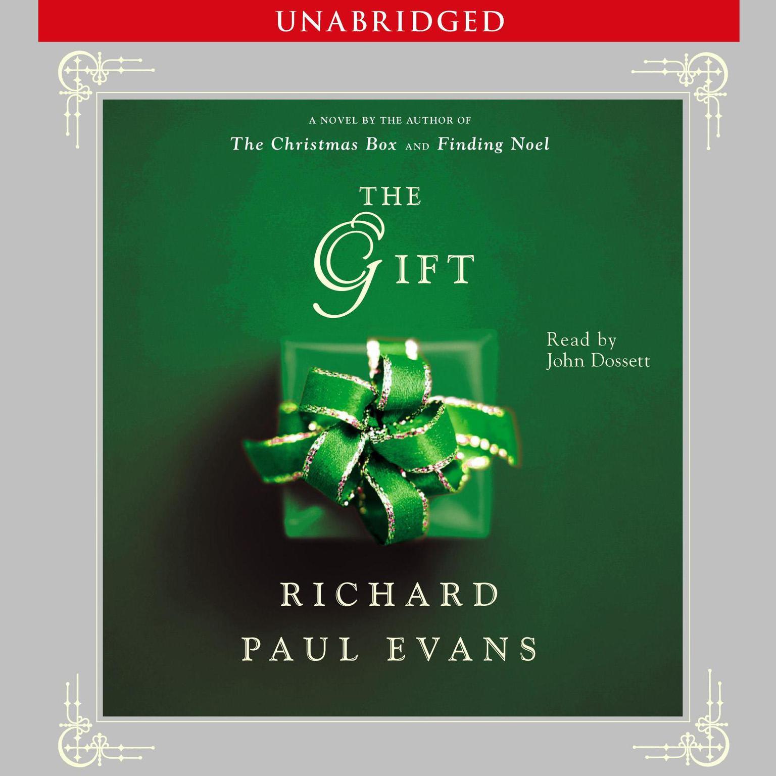 Printable Gift Audiobook Cover Art