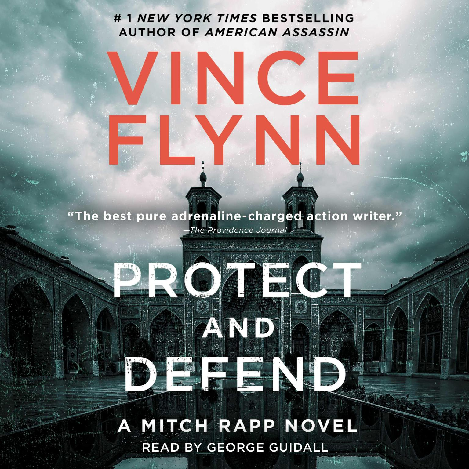 Printable Protect and Defend: A Thriller Audiobook Cover Art