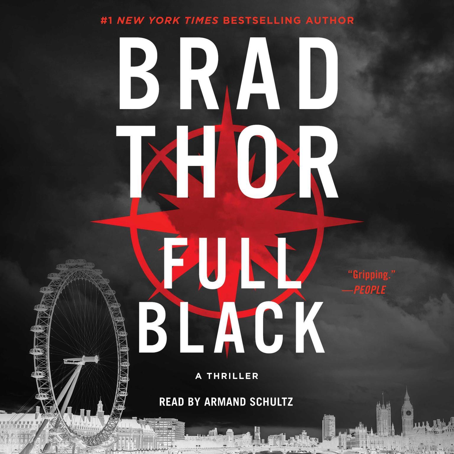 Printable Full Black: A Thriller Audiobook Cover Art