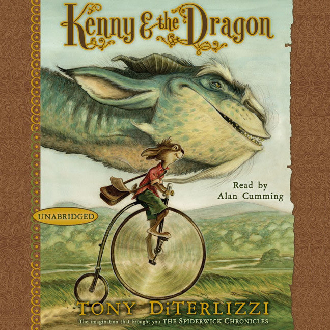 Printable Kenny & the Dragon Audiobook Cover Art
