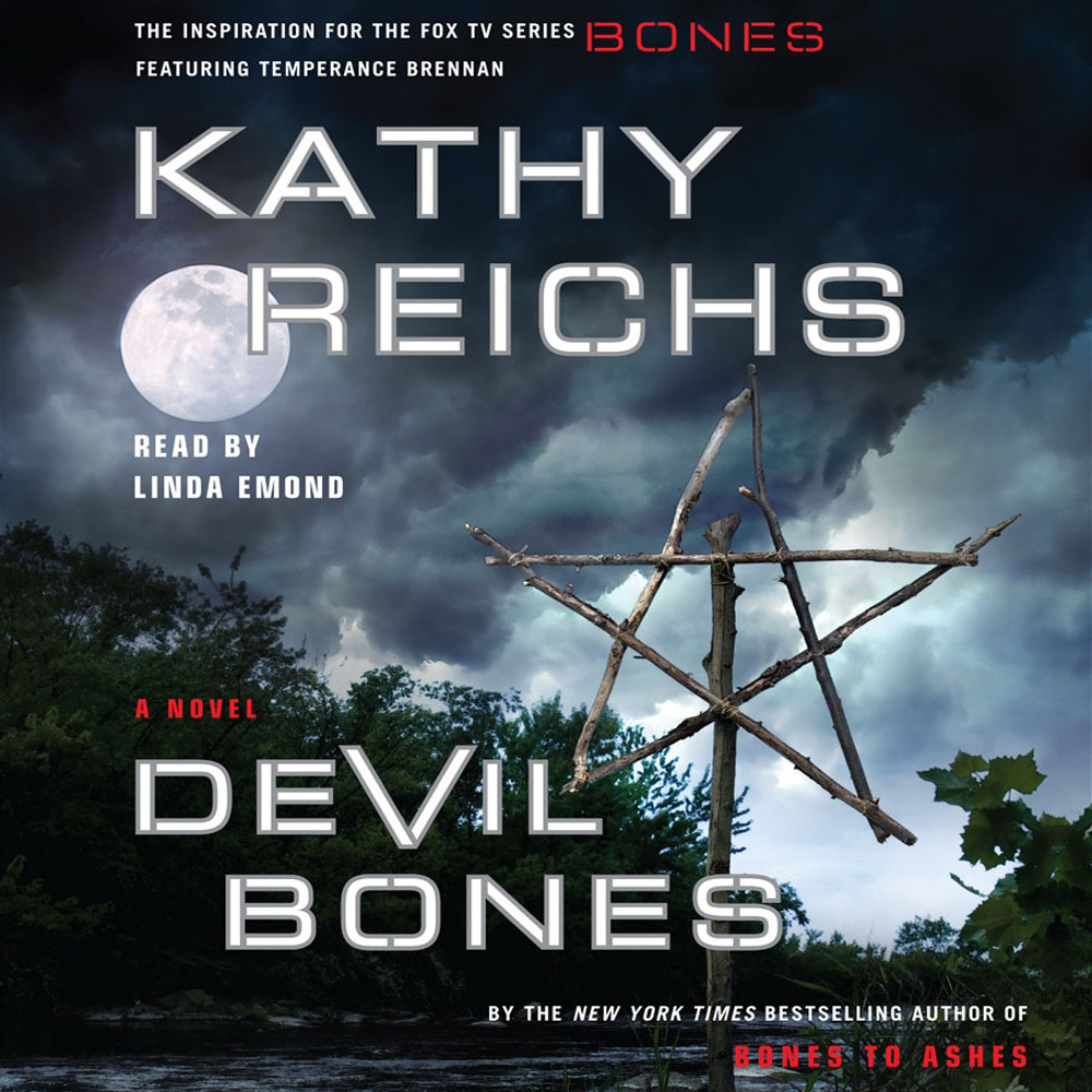 Printable Devil Bones: A Novel Audiobook Cover Art