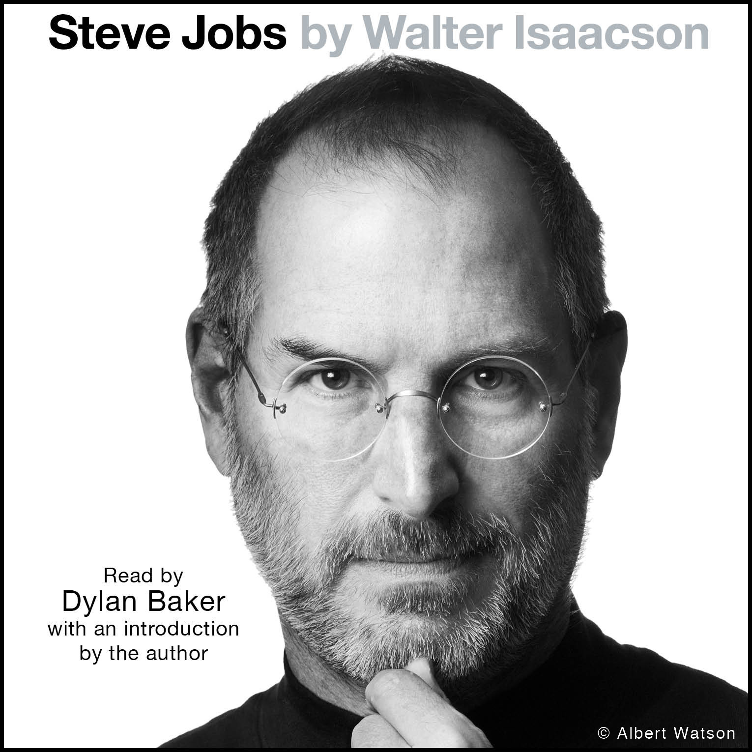 Printable Steve Jobs Audiobook Cover Art