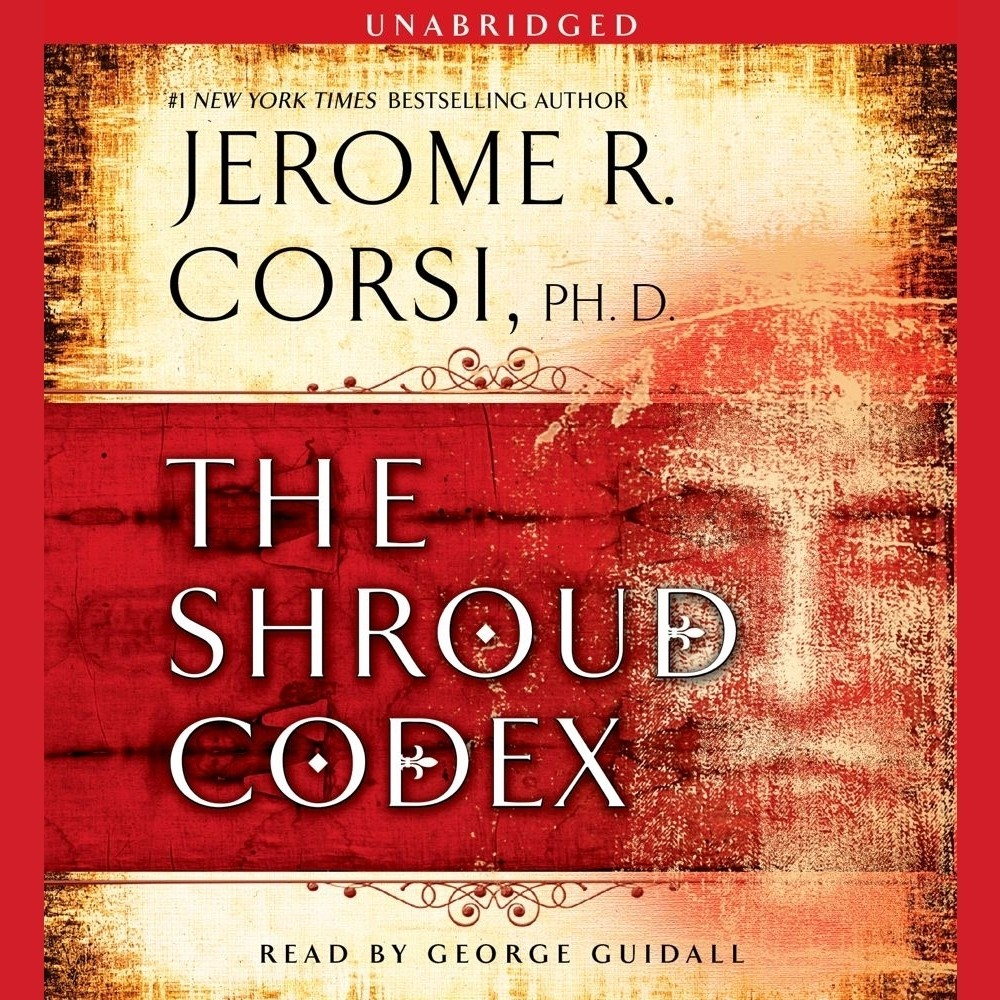 Printable The Shroud Codex Audiobook Cover Art