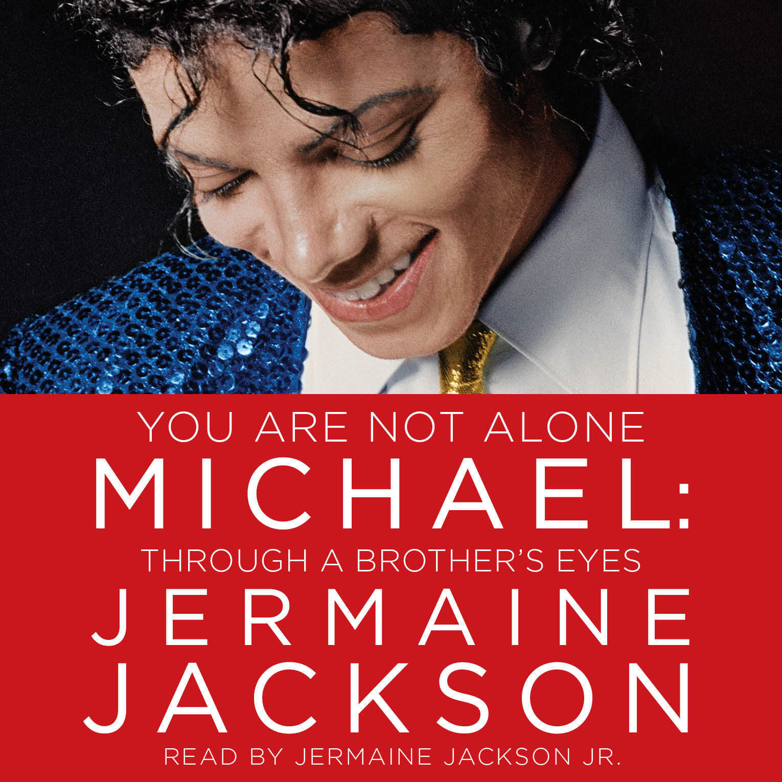 Printable You Are Not Alone: Michael: Through a Brother's Eyes Audiobook Cover Art