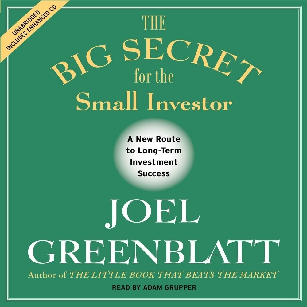 Printable The Big Secret for the Small Investor: The Shortest Route to Long-Term Investment Success Audiobook Cover Art
