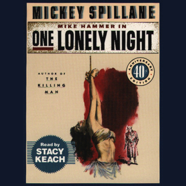Printable One Lonely Night Audiobook Cover Art