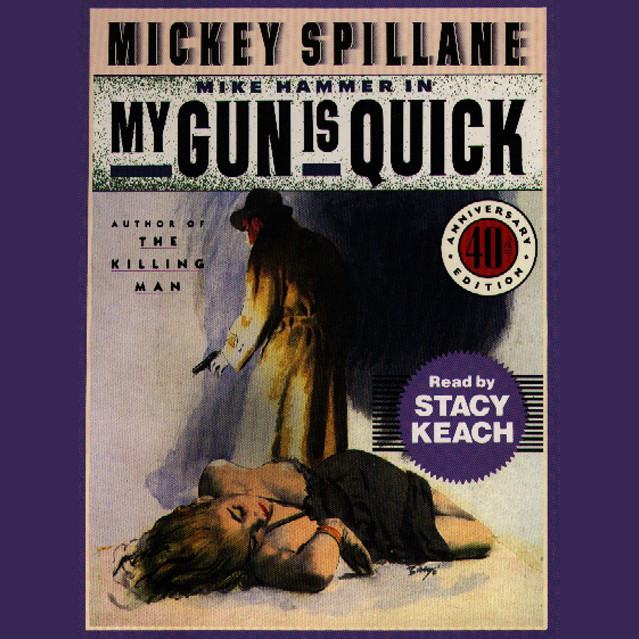 Printable My Gun is Quick Audiobook Cover Art