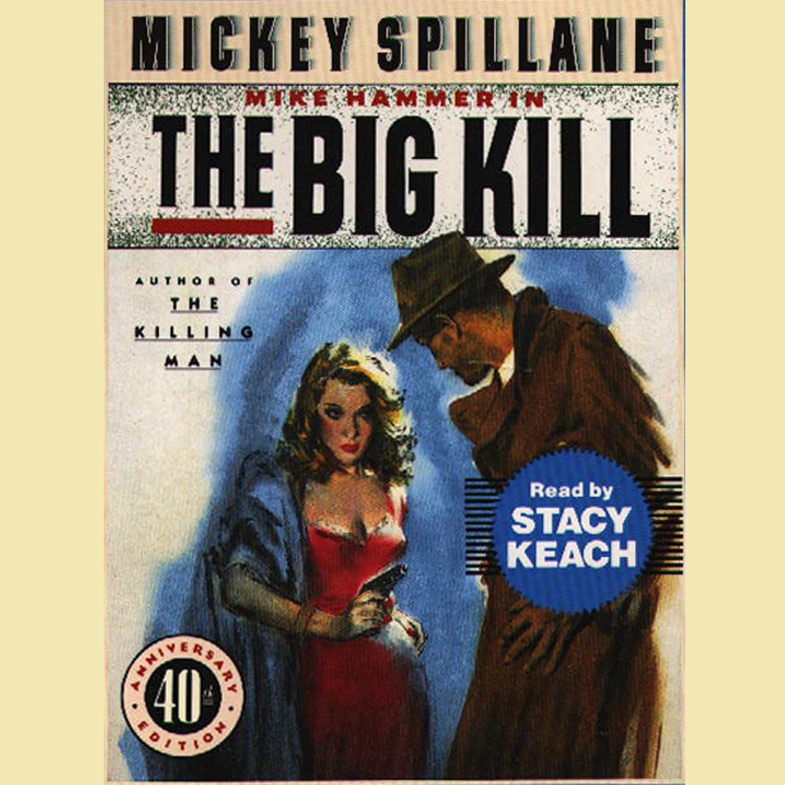 Printable The Big Kill Audiobook Cover Art